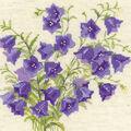 RIOLIS 7.75\u0027\u0027x7.75\u0027\u0027 Counted Cross Stitch Kit-Bellflower