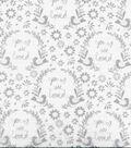 Nursery CottonFarbic 44\u0022-Grey You Are So Loved