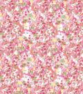 Premium Cotton Fabric 43\u0022-Brush Strokes Pink