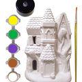 Little Maker\u0027s Plaster LED Kit-Haunted House