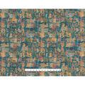 Home Essentials Lightweight Decor Fabric-Holkham Panorama Dream Blue
