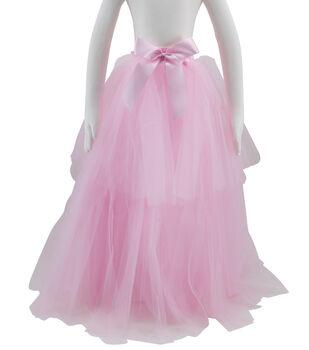 Maker's Halloween Children's Long Tutu Costume-Pink
