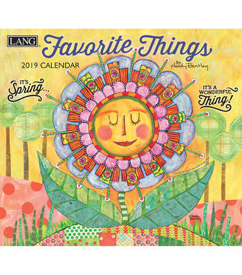 Favorite Things 2019 Wall Calendar