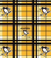 "Pittsburgh Penguins Fleece Fabric 60""-Plaid, , hi-res"
