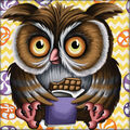 RTO Diamond Mosaic Embroidery Kit 25X25cm-Sweet Tooth Owl