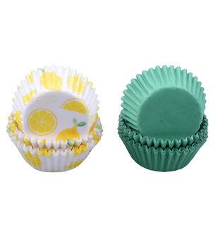 Hello Summer Baking 100 pk Mini Cupcake Liners-Lemons