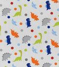 Nursery Cotton Fabric -Rex Tossed