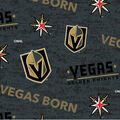 Vegas Golden Knights Cotton Fabric-Vegas Born
