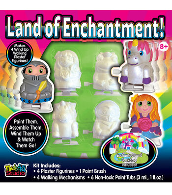 Plaster Walkers Figurines-Land of Enchantment