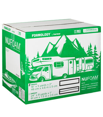 """NuFoam Pad 18"""" x 5 Yards x 2"""" thick"""