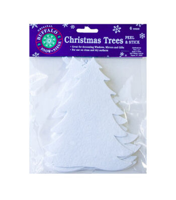 Buffalo Snow Adhesive Artificial Snow-Winter Trees