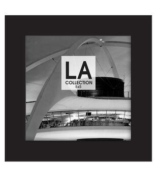 LA Collection Wood Frame 5''x5''-Black
