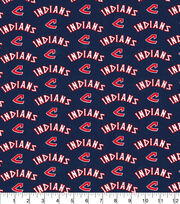 Cleveland Indians Cotton Fabric-70s Cooperstown, , hi-res