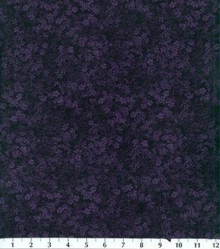 Legacy Studio Cotton Fabric -Plum Floral