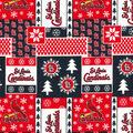 Christmas St. Louis Cardinals Cotton Fabric-Winter