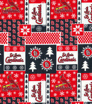 Christmas St. Louis Cardinals Cotton Fabric-Winter, , hi-res