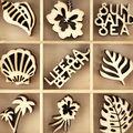 Themed Mini Wooden Flourishes-Life\u0027s A Beach