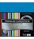 Core\u0027dinations Value Pack Cardstock 12\u0022X12\u0022 100/Pkg-World Tour-Smooth