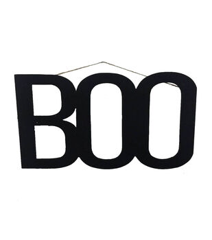 Maker's Halloween Boo Wall Decor