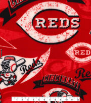 Cincinnati Reds Fleece Fabric-Vintage, , hi-res