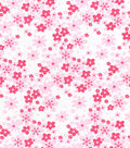 Nursery Cotton Fabric 43\u0022-Lady Bug Solid Floral
