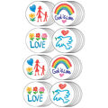 Carson Dellosa Faith Stickers, 120 Per Pack, 12 Packs