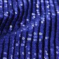 Casa Embellish Dahlia Pleated All Over Sequins Fabric-Surf The Web