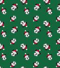 Disney Mickey Mouse Knit Fabric-Santa Toss