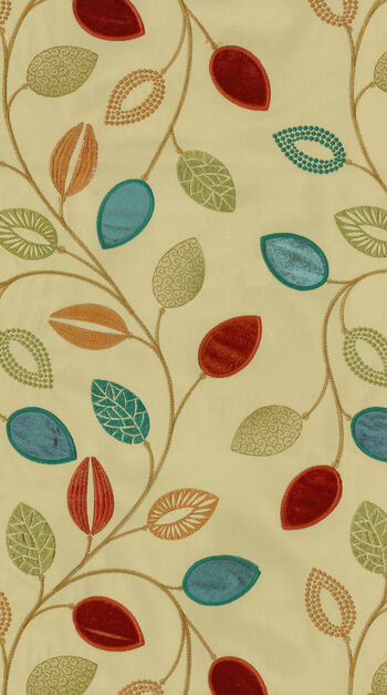 "Waverly Multi-Purpose Decor Fabric 52""-Leaflet Emb/Flaxseed"