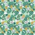 Disney Lion King Knit Fabric-Jungle