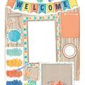 Eureka Confetti Splash Welcome Bulletin Board Set, 2 Sets