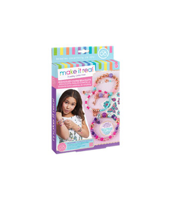 Make it Real Bedazzled! Charm Bracelets Kit-Blooming Creativity