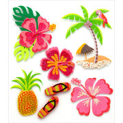 Jolee's Boutique Dimensional Stickers Hawaiian, , hi-res