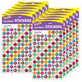 Soccer Balls superSpots Stickers 800 Per Pack, 12 Packs