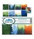 Reminisce Collection Kit 12\u0022X12\u0022-Scenic View