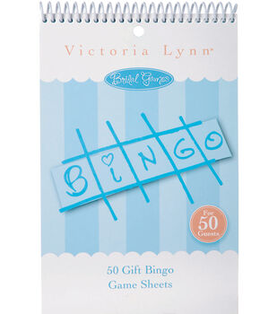 50pk Bridal Gift Bingo Game Sheets