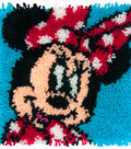 Disney Latch Hook Kit 12\u0022X12\u0022-Minnie Mouse