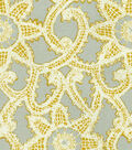 Home Decor 8\u0022x8\u0022 Fabric Swatch-HGTV HOME Like Lace Platinum