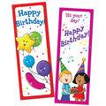 Happy Birthday Bookmarks, 30 Per Pack, 6 Packs