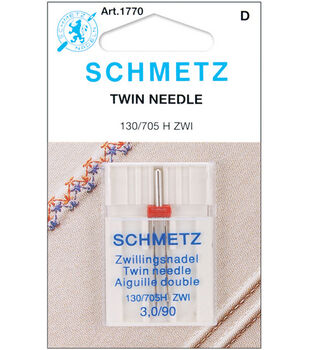 Schmetz Twin Machine Needle 1/Pk-Size 3.0 14/90
