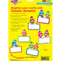 Sock Monkeys Signs Classic Accents Variety Pack, 36 Per Pack, 6 Packs