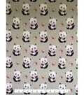 Doodles Juvenile Apparel Fabric 57\u0027\u0027-Pretty Panda