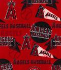 Los Angeles Angels Fleece Fabric -Vintage