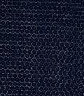 Speciality Cotton Fabric 55\u0027\u0027-Navy Dots