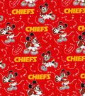 Kansas City Chiefs Cotton Fabric-Mickey