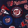 Washington Nationals Fleece Fabric-Vintage