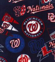 "Washington Nationals Fleece Fabric 58""-Vintage, , hi-res"