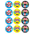 Candy Compli-MINTS-Peppermint Stinky Stickers 48 Per Pack, 6 Packs