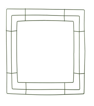 """Panacea Products-14"""" Square Wreath Frame"""