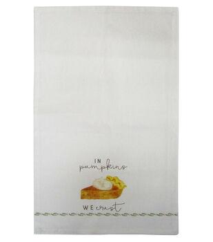 Simply Autumn Tip Towel-In Pumpkins We Crust